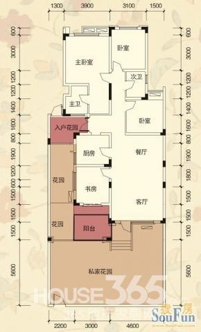 3室2厅/ 116㎡/ 毛坯 76 万元 华岩新城中央金科阳光小镇洋房低价出售
