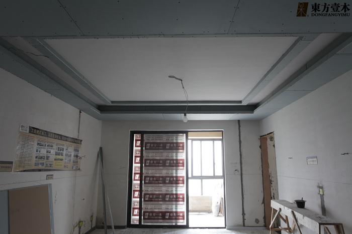 客厅的木工吊顶