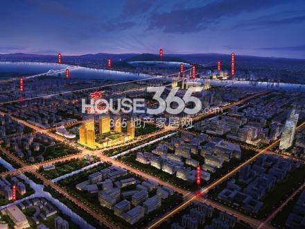 萧山宝龙城市广场鸟瞰图