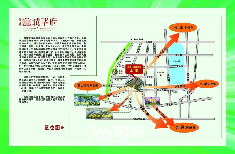 晟威鑫城华府交通图
