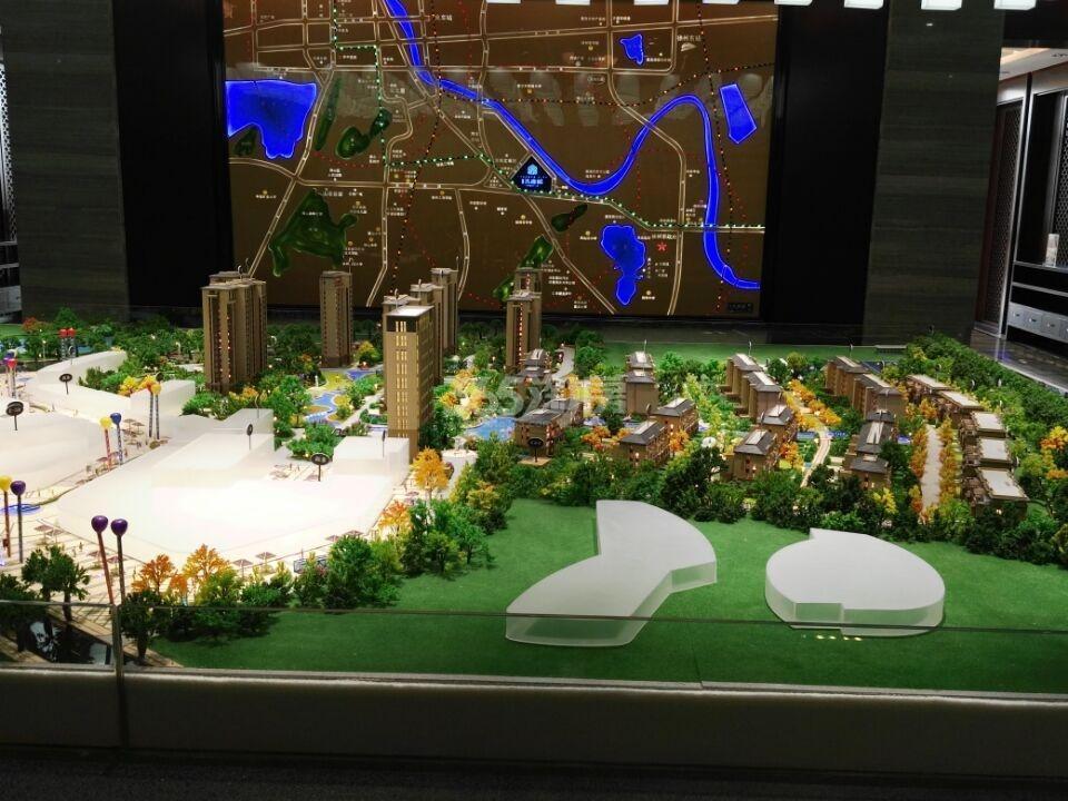 盛世孔雀城实景图