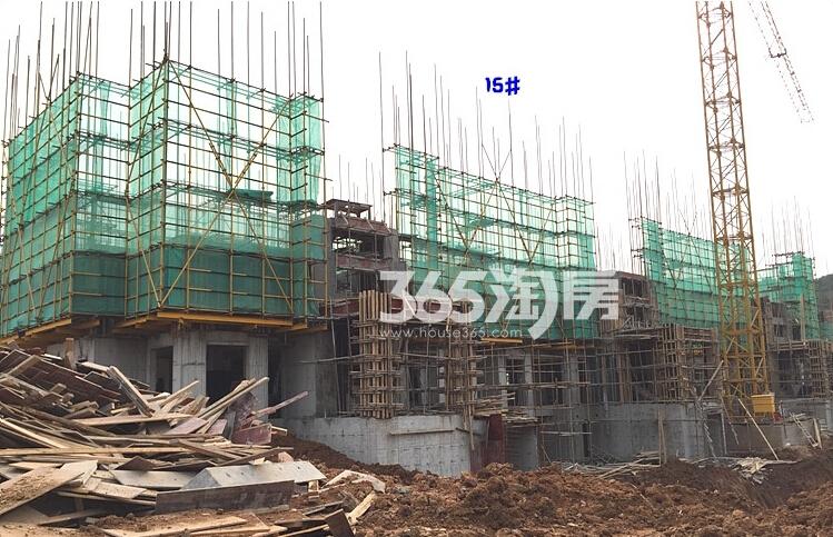 银亿东城12街区在建楼栋实景图(10.20)