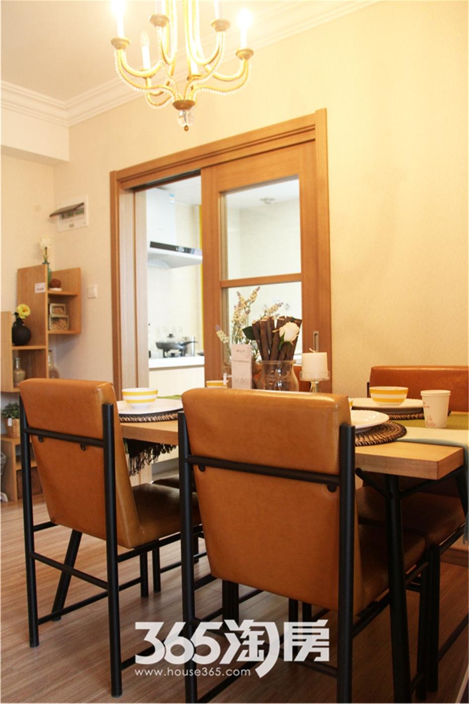 万科海上传奇16#楼A1户型97平样板房—餐厅