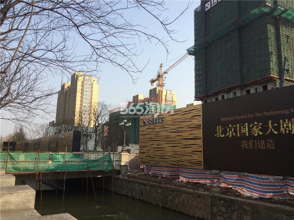 海玥名都工程进度实景图(2016.3.2)
