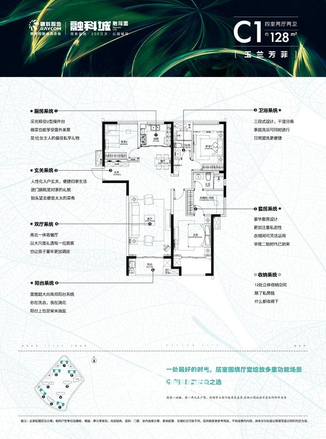 融科城三期融福园C1户型