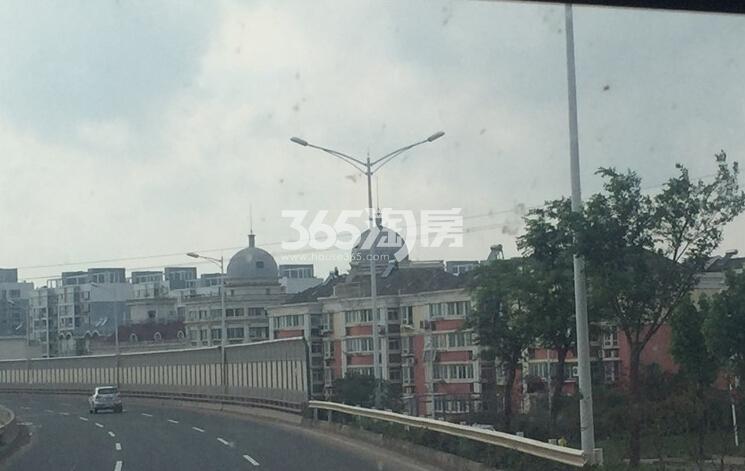 银亿东城附近S122道路现状实景图(6.20)