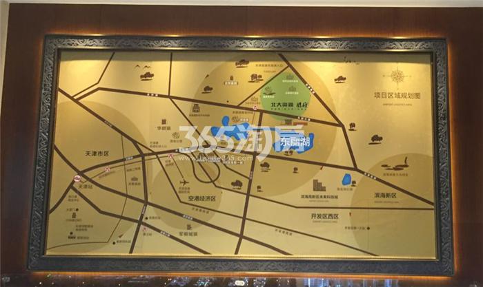 北大资源阅府交通图