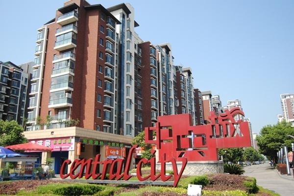 翰林公馆北侧中央城小区