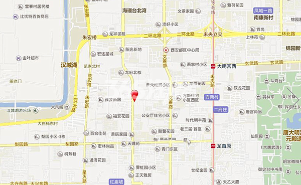 宫园美寓交通图