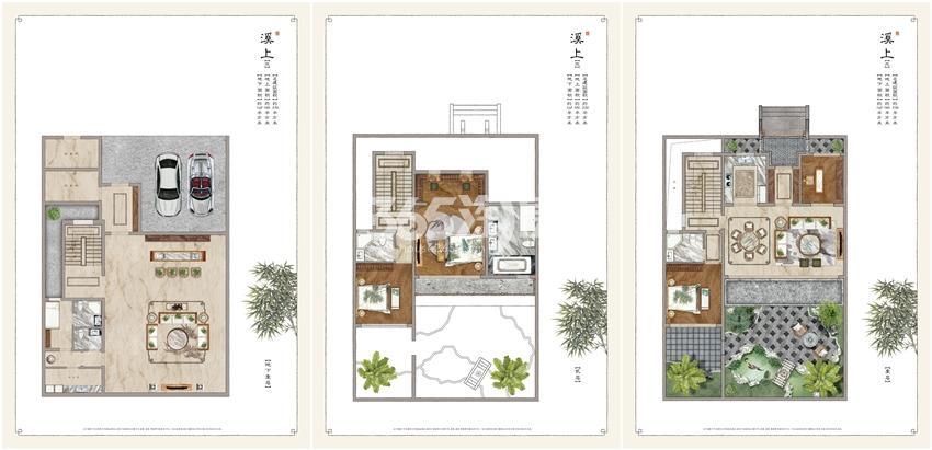 绿城南京桃花源336㎡C2户型图