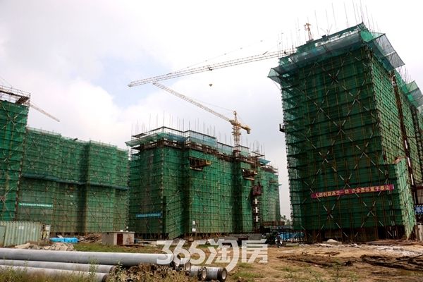 三潭音悦和园工程进度(2016年9月摄)
