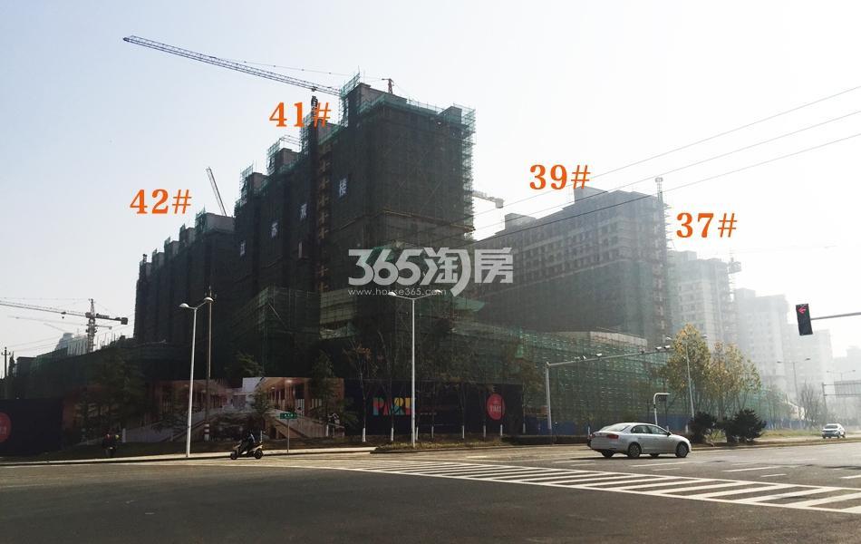 高科荣境二期在建楼栋实景图(12.21)