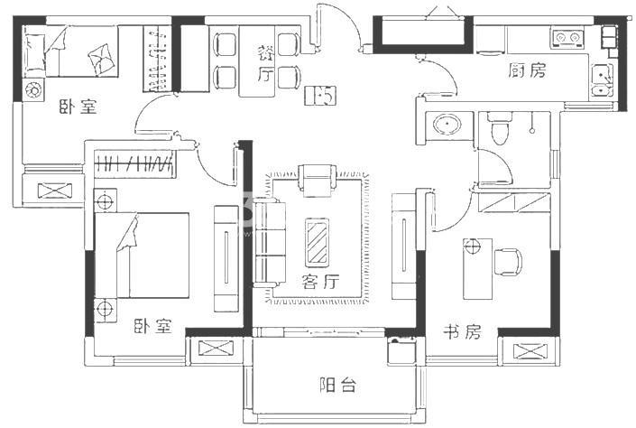 紫晶未来城户型图