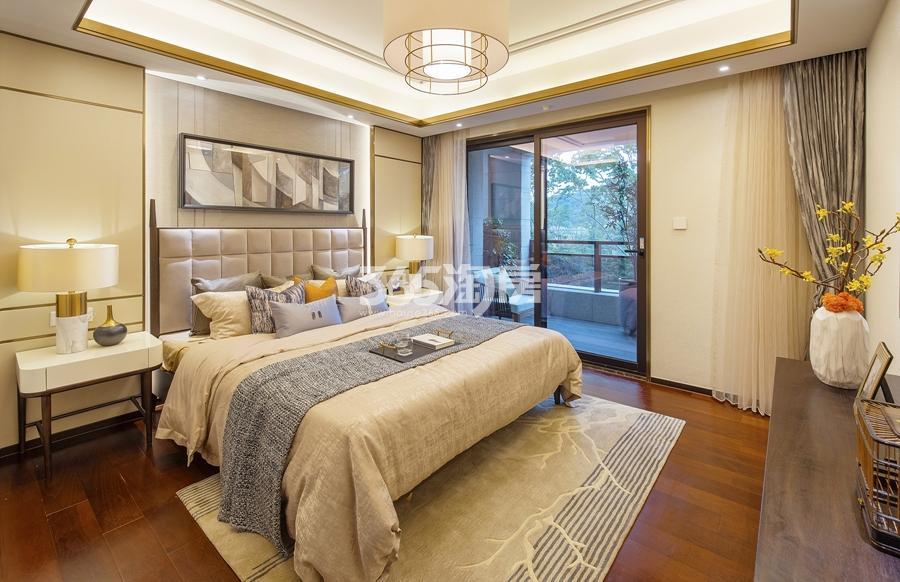 新城香悦公馆P1户型图150方样板房——主卧