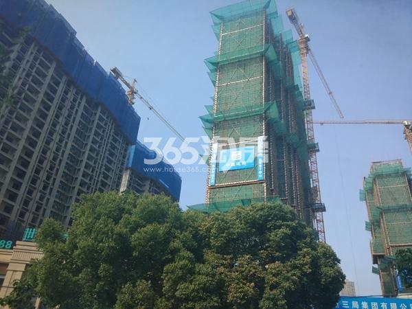 世茂时光里6#、7#楼高层工程实景(2017.7摄)