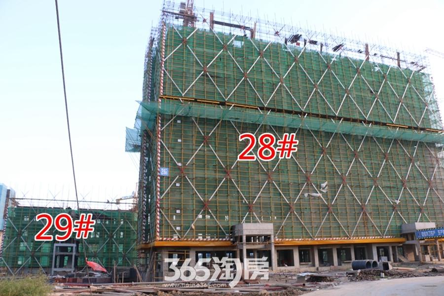 翰林公馆28#29#施工中(2017.7摄)