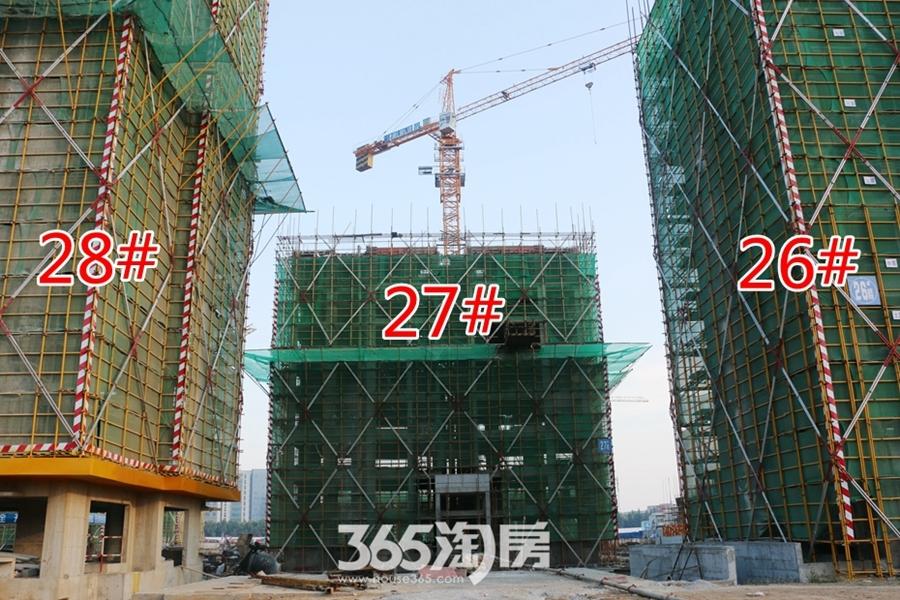 翰林公馆26#27#28#施工中(2017.7摄)