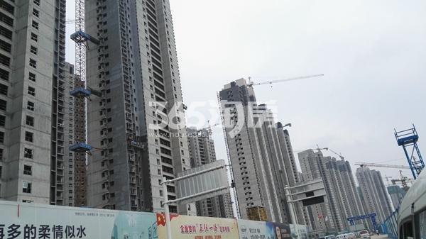 荣盛城一二期工程实景图(8.9)