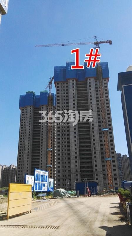 荣盛花语城二期云锦1#工程实景图(9.14)