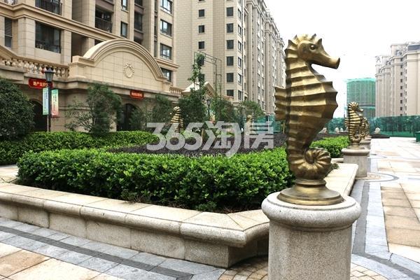 新华联梦想城小区景观(2017.9摄)
