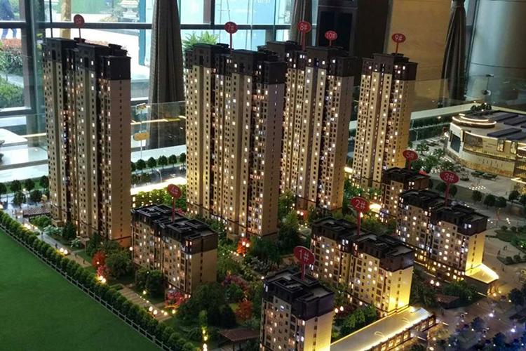 金泰新理城项目鸟瞰图