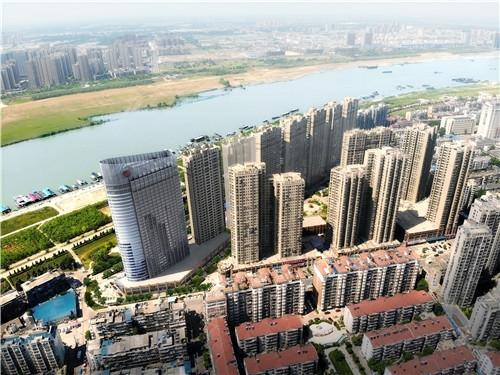 瑞泰·滨江公馆鸟瞰图