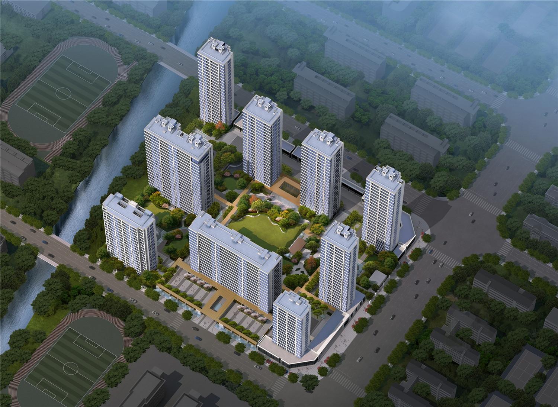 杭州大家鸟瞰图